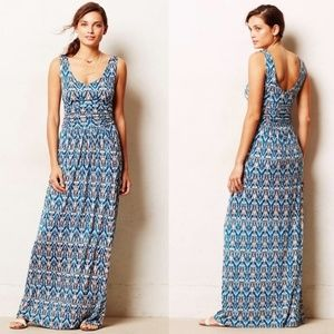 Anthropologie Vanessa Virginia Tidal Maxi Dress